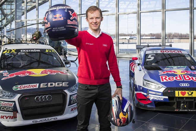 Audi RS5 DTM Ekstrom despedida
