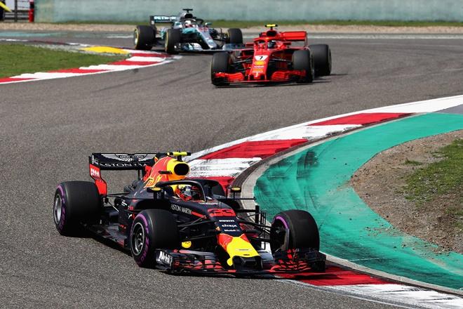 F1 GP China Ricciardo Red bull