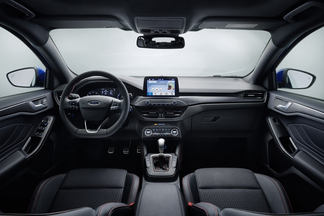 Ford Focus interior 2018