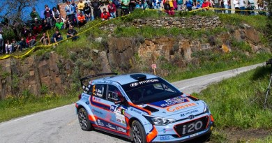 Rallye Sierra Morena Ares Hyundai i20 R5