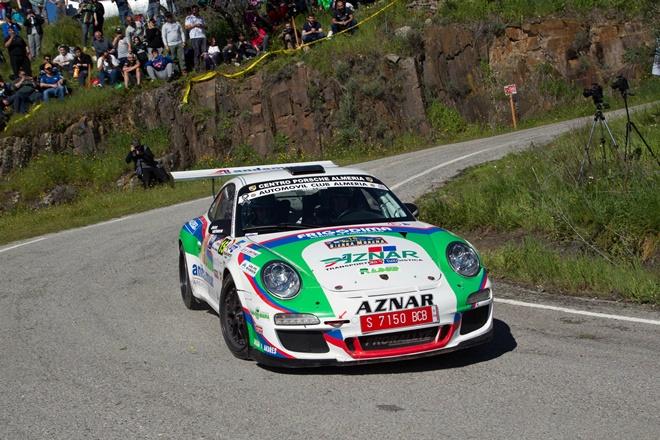 Rallye Sierra Morena Aznar Porsche 911