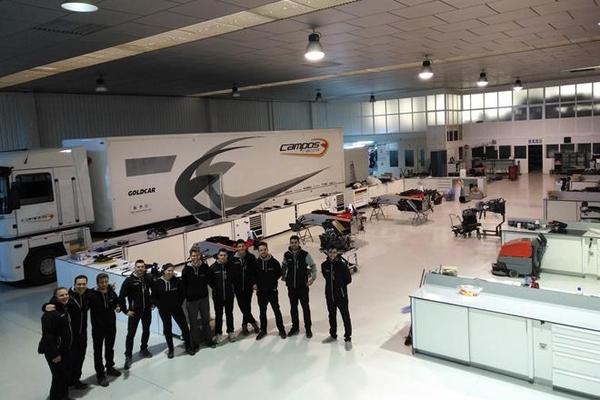 curso Técnico Motorsport Campos Racing