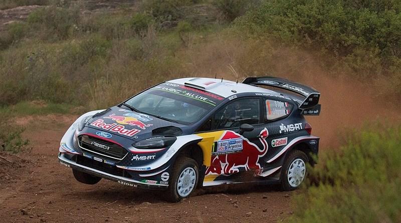 Ford Fiesta WRC tierra pre portugal