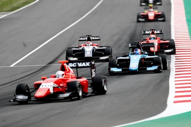 GP3 españa carrera 1