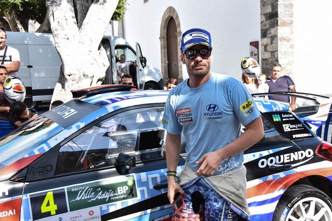 Rallye Adeje Cohete Suarez sin mono