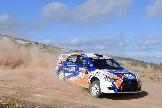 Rallye Isla Volcanes CERT Mitsubishi Evo Quintana