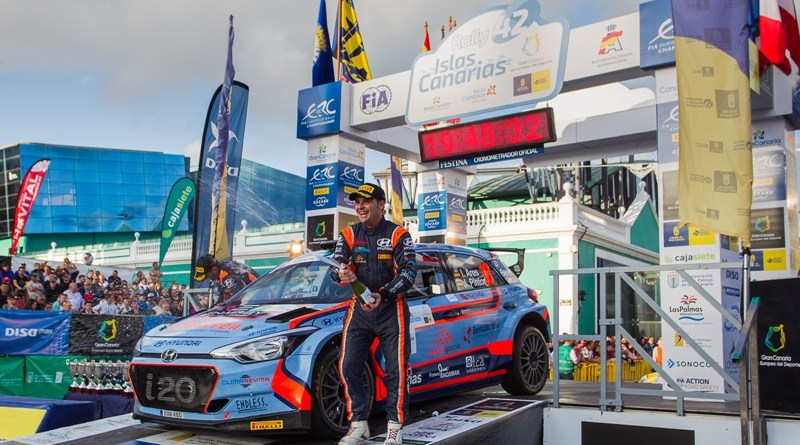 Rallye Islas Canarias Ares Podio Hyundai i20 R5