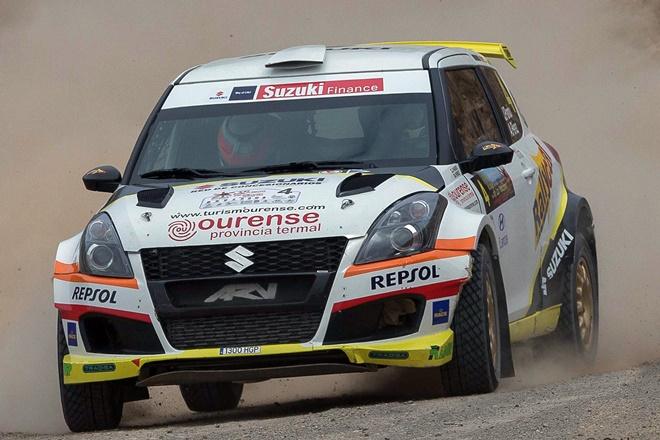 Rallye Volcanes Pardo Suzuki Swift N5
