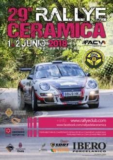 cartel rallye ceramica 2018