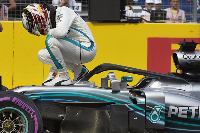 Mercedes-AMG F1 GPFrancia Paul Ricard Hamilton
