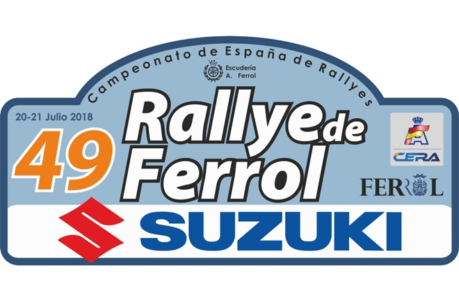 placa 49 rallye ferrol 2018