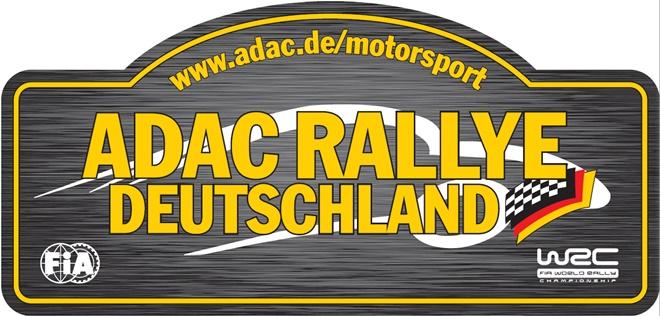 placa rallye alemania 2018