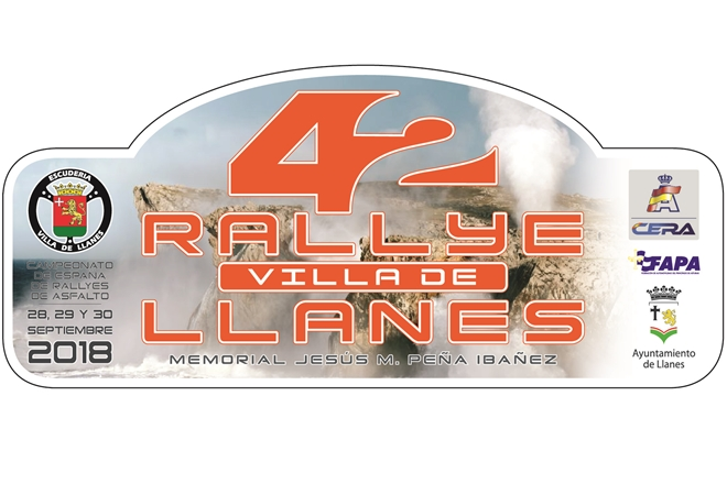 placa rallye villa llanes 2018
