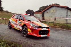 Vuelta de Ángel Paniceres en el Rallye Memorial Cristian López