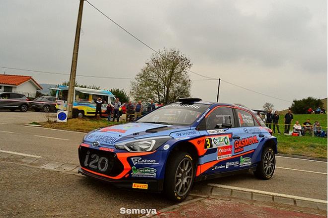 S Pernia ganador del autonomico en el Rallye santander Cantabria 2018
