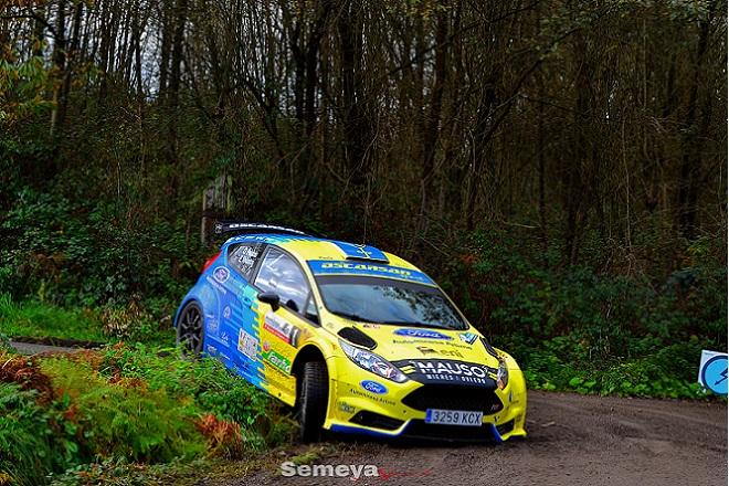 Oscar Palacio Rallye La Felguera 2018