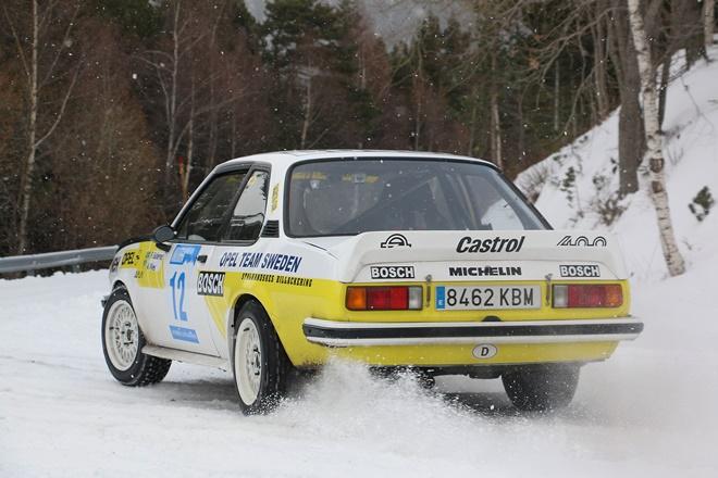 andorra winter rallye nieve opel manta 2011