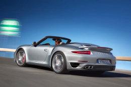 Porsche 911 Cabrio Turbo 2013