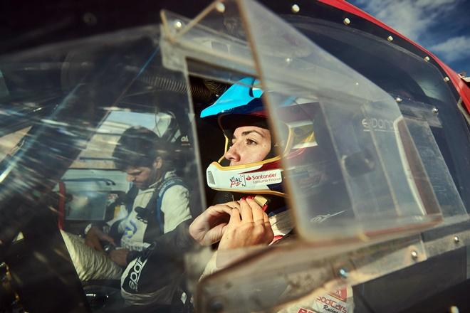 Cristina Gutierrez Dakar 2019 ventanilla 0301