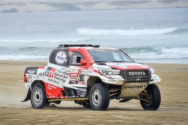Dakar etapa 8 al-attiyah toyota 1601