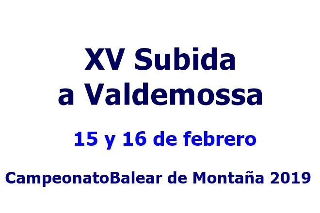 subida a Valdemossa 2016 cartela