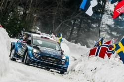 wrc suecia Suninen ford fiesta etapa 1