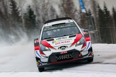 Tanak apunta a la victoria en Suecia