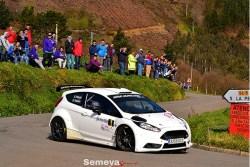 Palacio y Velasco comienzan la temporada con victoria en el III Rallye la Espina