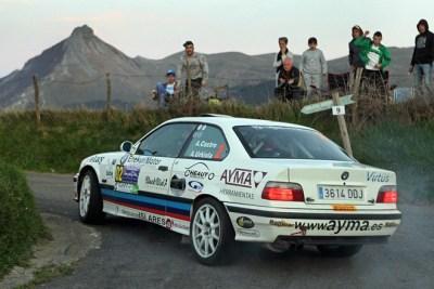 Aingeru Castro-Alaitz Urkiola ganan elVI Rallysprint de Goierri