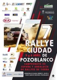 Cartel Rallye Sierra Morena 2019