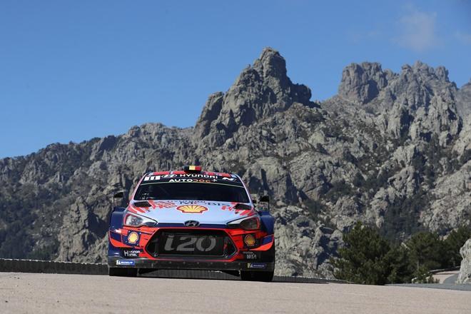rallye tour de corse neuville hyundai i20 wrc etapa 2