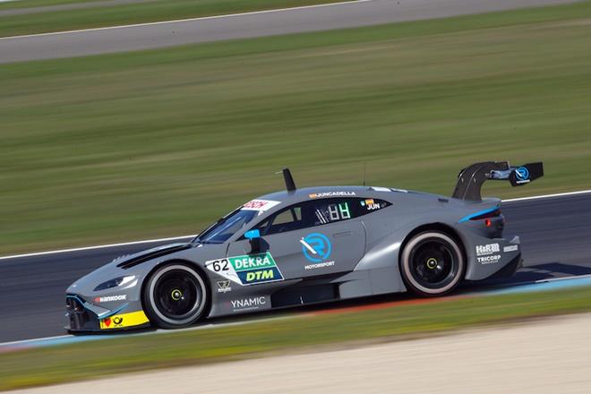 Juncadella aston martin DTM Test Lausitzring 2019