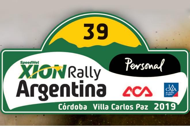 rallye argentina 2019 placa