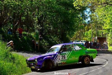 06 Los gallegos Francisco López y Miguel Peña eran los vencedores de pre-81. Rallye de Asturias Histórico 2019