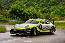07 Espectacular Joseba Iraola con el Porshe 997 en el Rallye Festival trasmiera 2019