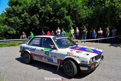 07 José Manuel Menéndez con el BMW 320i fueron los vencedores de la Copa Propulsión. Rallye de Asturias Histórico 2019