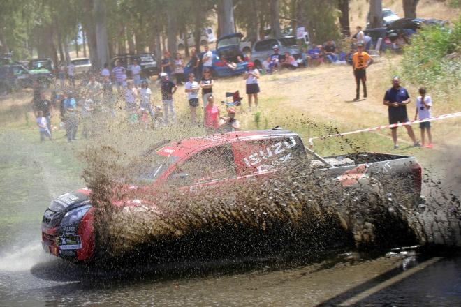 certt isuzu paso agua rallye tt extremadura 2019