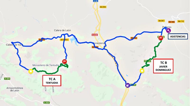 rs culebrin mapa tramos