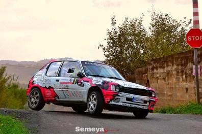 02 Mora segundo clasificado en el Rallye La Felguera 2019