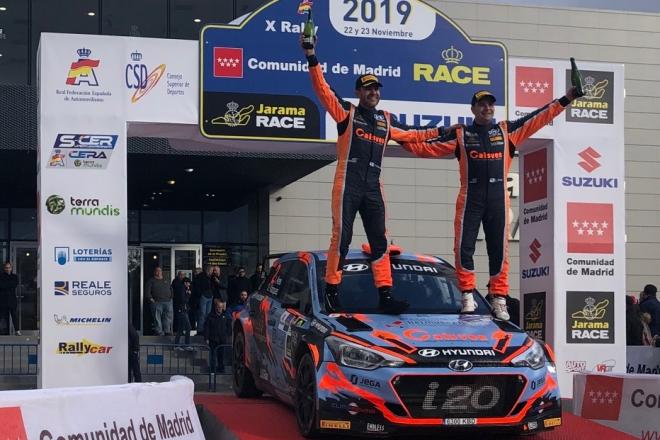 rallye race comunidad madrid 2019 ares podio