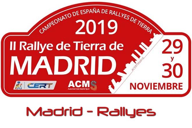 rallye tierra madrid 2019 placa