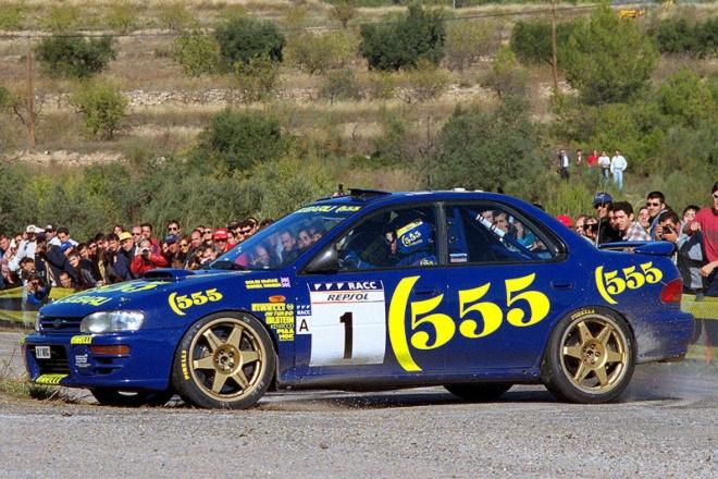 Prodrive ColinMcRae rallye españa 1996