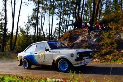 04 Iker Reketa ganador en Regularidad Sport 12 Rallye Solo Escort MKI MKII