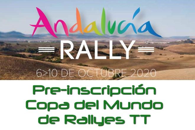 Andalucía rallye 2020 cartela