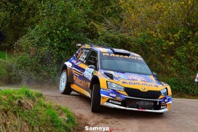 02 Suarez primer asturiano y ganador del Rallye Princesa de Asturias 2020
