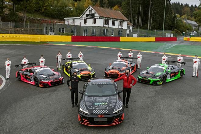 Audi R8 LMS e-tron GT 2020