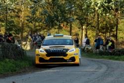 Arduo estreno del Ford Fiesta R5 MKII para el equipo Oscarsan Sport