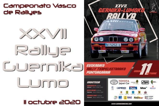 Rallye guernica-lumo 2020 cartel