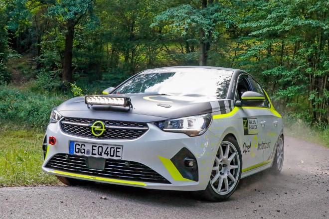 opel e-corsa rallye 2021