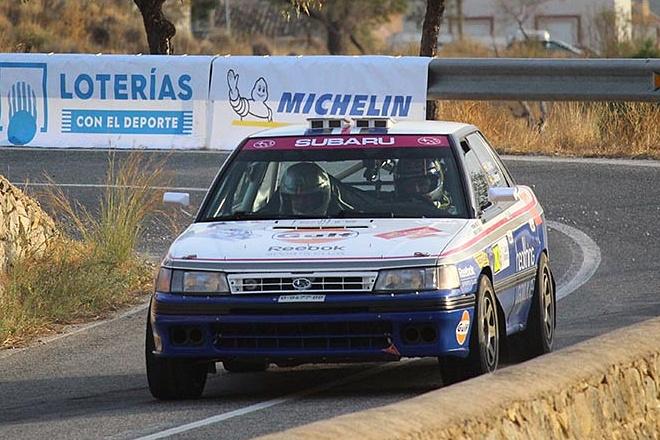 rallye la Nucía históricos Sainz-Martínez Legacy 4WD